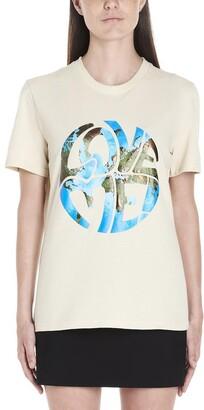 Alberta Ferretti Love me Print T-Shirt
