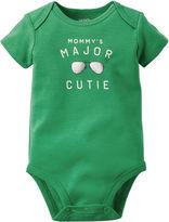 Carter's Short-Sleeve Cutie Slogan Bodysuit - Baby Boys newborn-24m