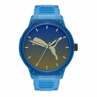 Puma Men Reset V2 Polyurethane Watch Color: Black (Model: P5004)