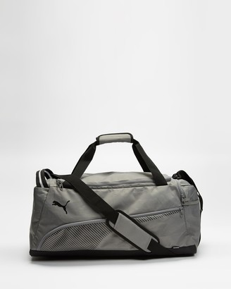 Puma Grey Duffle Bags - Fundamentals Sports Bag - Medium - Size One Size, 27 at The Iconic