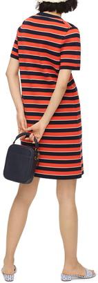 J.Crew Stripe Short Sleeve Re-Imagined Wool Sweater Dress
