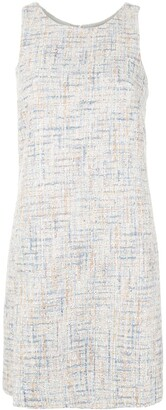 Emporio Armani Tweed Shift Dress