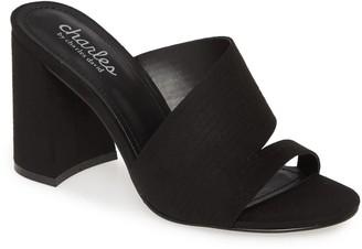 Charles David Rhythmic Block Heel Sandal