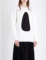 Aalto Oversized cutout wool jumper