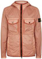Stone Island Zip-Through Hooded Jacket