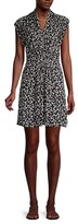 Thumbnail for your product : French Connection Bruna Floral Wrap-Effect Dress