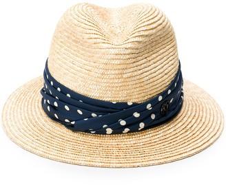 Maison Michel Bobbie straw sun hat