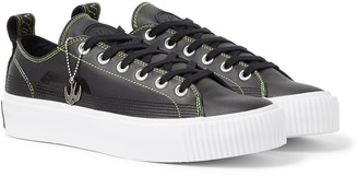 McQ Plimsoll Leather Sneakers