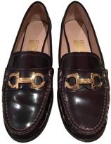 Salvatore Ferragamo Brown Patent leather Flats