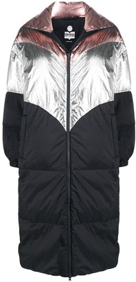 Etoile Isabel Marant Colour Block Padded Coat