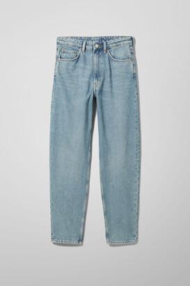 Weekday Lash Extra High Mom Jeans - Black