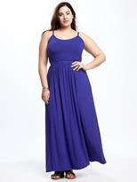 Old Navy High-Neck Plus-Size Maxi Dress