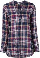 Aspesi plaid blouse - women - Cotton/Polyurethane/Lyocell - 40
