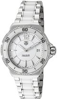 Tag Heuer WAH1213-BA0861 Women's Formula 1 Diamond Stainless Steel and Ceramic Dial