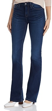 Hudson Mid-Rise Bootcut Jeans in Baltic