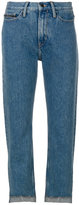 CK Calvin Klein cropped jeans