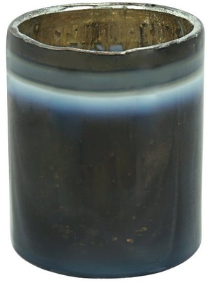 "Aspen Creative Corporation Aspen Creative Grey Glass Votive Candle Holder 2-3/4"" Diameter x 3"" Height, 1 Pack"
