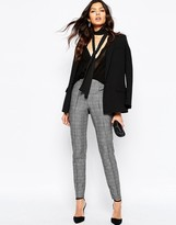 MANGO Heritage Check Tailored Pant