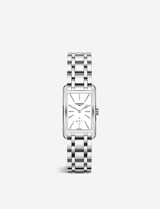 Longines L55124116 DolceVita stainless steel watch