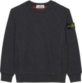 Stone Island Crew neck cotton sweatshirt 4-14 years