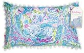 Lilly Pulitzer Mermaid Printed Pillow