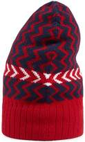 Gucci Wool hat with zigzag motif