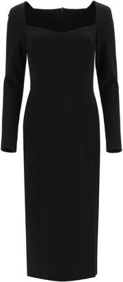 Dolce & Gabbana COCKTAIL DRESS 42 Black