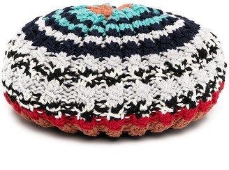 Missoni Chunky Knit Wool Beret