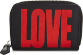 Givenchy Love mini leather wallet