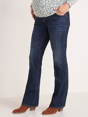 Old Navy Maternity Full-Panel Boot-Cut Jeans