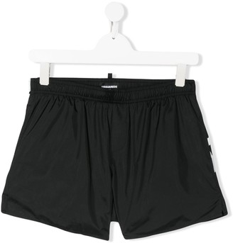 DSQUARED2 Printed Logo Swim Shorts