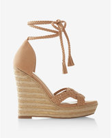 Express Braided Wedge Sandals