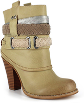 DOLCE by Mojo Moxy Cream Ankle Boot
