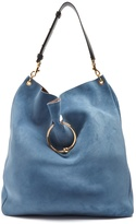 J.W.Anderson Pierce Hobo large suede shoulder bag