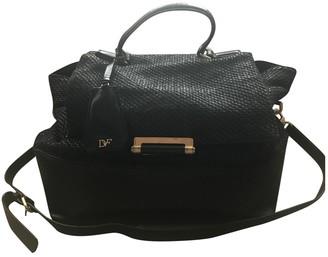 Diane von Furstenberg Black Synthetic Handbags