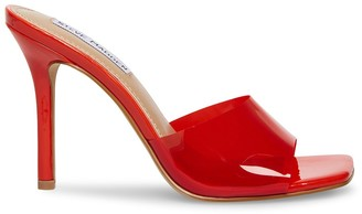 Steve Madden Signal Red Patent
