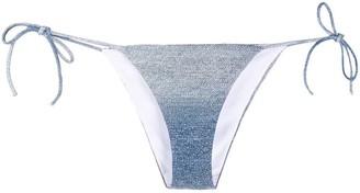 Ermanno Scervino Sequin Bikini Bottoms