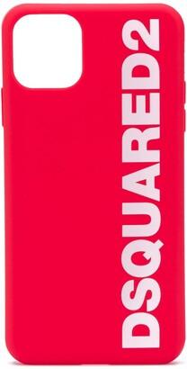 DSQUARED2 logo iPhone 11 pro max case