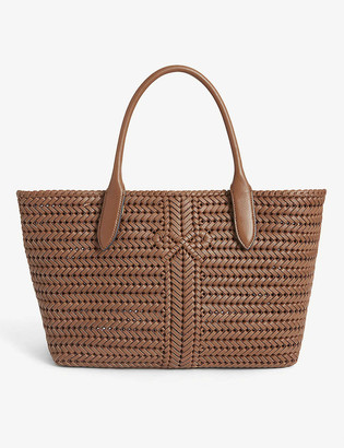 Anya Hindmarch Neeson woven leather tote
