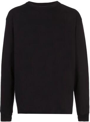 John Elliott long-sleeve cotton T-shirt