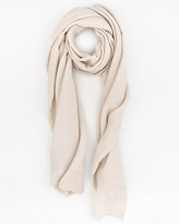 Le Château Woven Pleated Lightweight Scarf