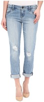 KUT from the Kloth Adele Slouchy Boyfriend Jeans in Touch w/ New Vintage Base Wash