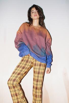 Urban Renewal Vintage Recycled Gradient Tie-Dye Crew Neck Sweatshirt