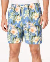 Tommy Bahama Men's Naples Mahalo Beach Floral-Print Twill Swim Trunks