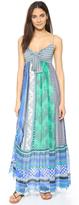 Diane von Furstenberg Malina Patchwork Maxi Dress