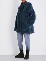 Yeezy Season 4 oversized cotton-blend puffer jacket