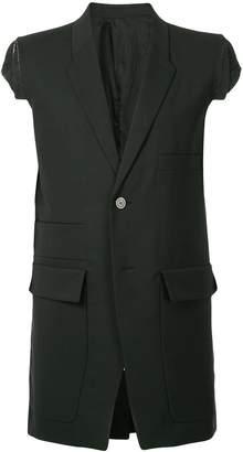 Rick Owens Multipocket Tailored Sleeveless blazer