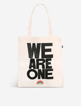 Kurt Geiger We Are One organic cotton tote bag