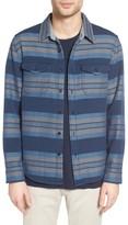 Men's Outerknown Plaid Flannel Trim Fit Sport Shirt