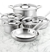 All-Clad BD5 Brushed Stainless Steel 10-Pc. Cookware Set